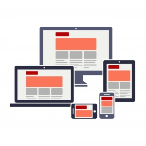 Devices representing responsive web design