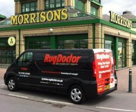 rug doctor rental price morrisons