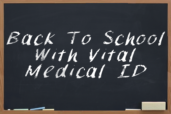 back to school with medical id