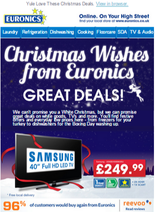 Email Marketing - Euronics