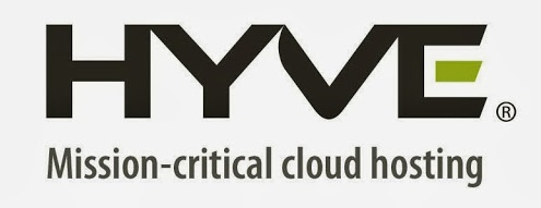 Logo for Hyve cloud hosting