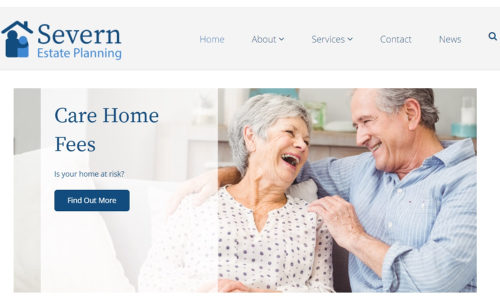 Severn Estate Planning website, brochures
